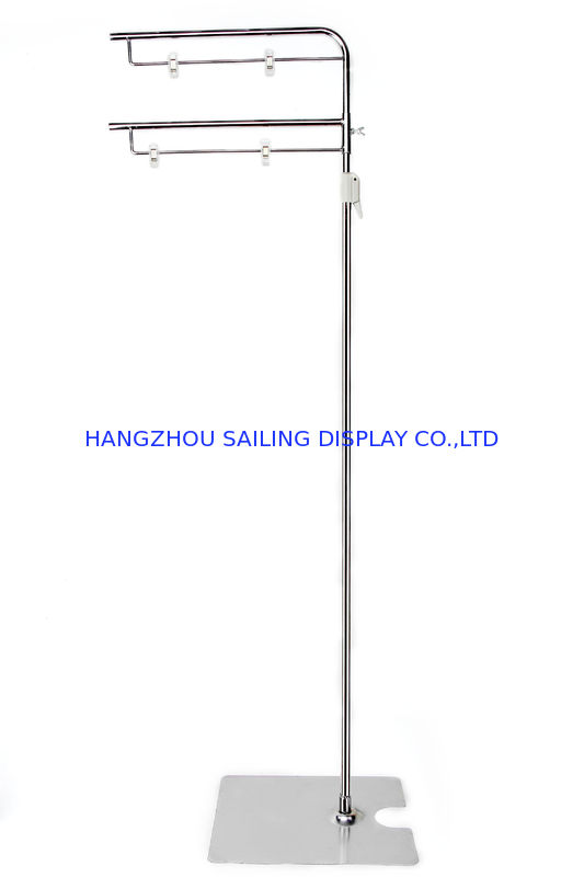 Metal Display Stands POS Sign Holder For Poster , Banner 310x 250 Base সরবরাহকারী
