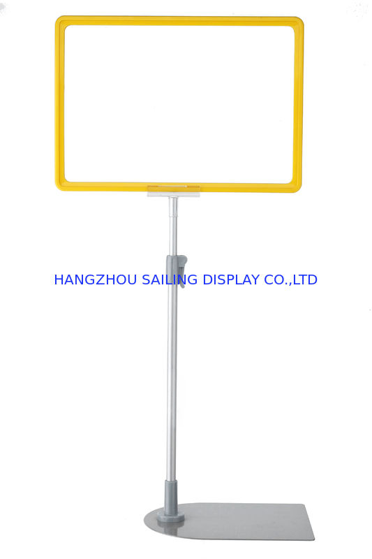 Blue A3 - A6 Floor Standing Frames / Floor Poster Stands for Sign সরবরাহকারী